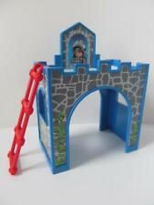 Playmobil Dollshouse furniture: Blue castle loft bed for boy child figure NEW