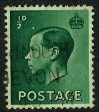 Gb King Edward Viii 1936, Error ½d Green, Sg457, Used/Fu