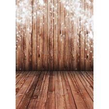 Christmas Wood Floor Backdrop Photography background studio Photo Prop 3X5FT