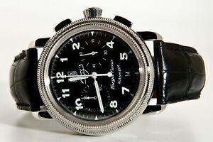 Tag Heuer Targa Florio Fangio chronograph automatic date mens wristwatch CX2113!