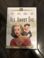 All About Eve Dvd (1950) Bette Davis Anne Baxter Marilyn Monroe