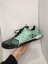Reebok CrossFit Nano 4.0 CF74 Training Shoe Mens Size 9 Teal Green Blue Color