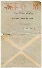 SWEDEN METER FRANKING ADVERTISING 1929 FAVORIT...NASSJO