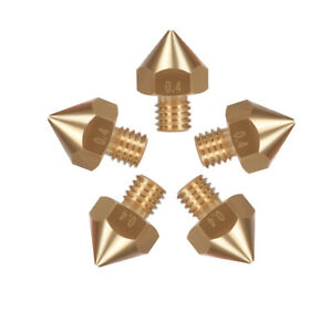 BIQU 10/20PCS Original B1UM2 Brass Nozzle 1.75 0.4mm-0.8MM For 1.75mm Filament
