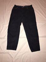 Vintage 90's Tommy Hilfiger Corduroy Pants Blue Men's 38 X 34