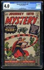 Journey Into Mystery #83 CGC VG 4.0 Off White to White 1st Thor!