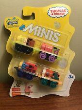 THOMAS & FRIENDS Minis Train Engine 2016  SPONGEBOB 4 Pack NIB