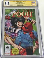 Do You Pooh #1 Hawaii Comic Con Signed & Sketch by Marat Mychaels CGC 9.8 SS