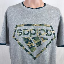 Adidas Upside Down Camo Logo T-Shirt XL Grey China Release 2012 Collection