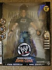 "NIB WWE Maximum Aggression 12"" John Cena figure"