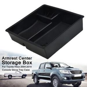 Center Console Storage Box Tray Fits For Toyota Hilux VIGO Fortuner Innova 05-14