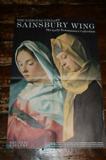 SAINSBURY WING, THE NATIONAL GALLERY London Underground Poster, Bellini