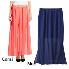 Choice of Color Mossimo Sheer Illusion Maxi Skirt NWOT A91