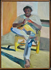 Martha Armstrong, American 1940- Modernist, figurative expressionist, RISD, #2
