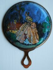 Vintage Gwenda Make Up Mirror Foil Crinoline Lady 30's/40's