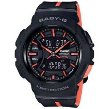 CASIO BABY-G BASEWORLD 2017 RUNNING WATCH BGA-240 FREE EXPRESS BLACK BGA-240L-1A