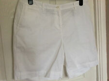 Marks and Spencer Cotton Khaki, Chino Shorts for Women