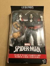 Marvel Legends  Morbius Absorbing Man BAF Villains Of The Night Spider-man
