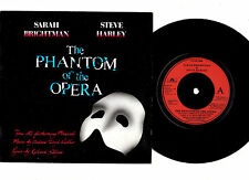 "SARAH BRIGHTMAN & STEVE HARLEY.PHANTOM OF THE OPERA.UK ORIG 7"" & PIC/SL.EX"