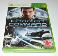 Carrier Command: Gaea Mission for Xbox 360 Brand New! Fast Shipping!