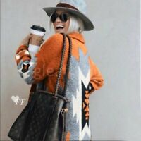 L Cowichan Western Blanket Cardigan Sweater Coat Jacket Womens Size LARGE NWT