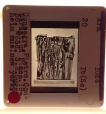 "Pietro Consagra ""Conversation"" 1958. Italian Forma I Abstract Art 35mm Slide"
