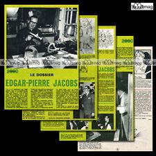 'Le Dossier EDGAR-PIERRE JACOBS' Blake & Mortimer - Article de Presse 70's #658