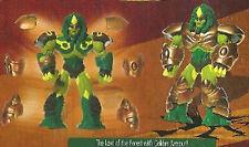 "GORMITI GOLDEN Armour LUCUS 6"" Action Figure"