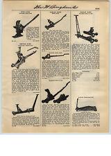 1931 PAPER AD Walker Roll-A-Car Garage Floor Jack Manley Hydraulic