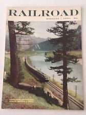Railroad Magazine Canadian Pacific Streamliner Winds April 1955 012217RH