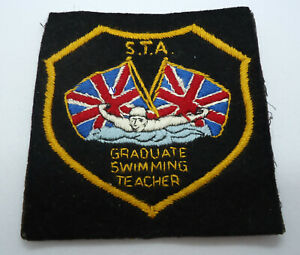 Rare Vintage Scuba Diving Patch STA Teacher