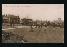 Dorset SHERBOURNE Pageant Gardens Digby Hotel c1900/10s? RP PPC