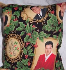 NEW HANDMADE ELVIS  CHRISTMAS HOLIDAY TRAVEL / TOSS / CAR  / CUDDLE PILLOW