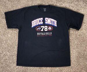 Buffalo Bills T Shirt Bruce Smith NFL Football Hall of Fame # 78 Reebok X Large