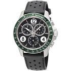Tissot V8 Black Dial Chronograph Leather Strap Men's Watch T1064171605700