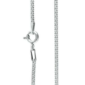 925 Sterling Silver Necklace Chain Popcorn 1.5mm thick Various lengths
