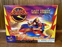 Flash Gordon Rebel Airbike Vintage Action Figure Vehicle New 1996 Playmates 90s