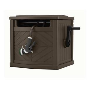 150 ft. Hose Reel Storage Bin Garden Box Hideaway Garden Outdoor Water Trak New