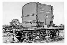 pt6913 - British Railways Conflat Wagon - photograph