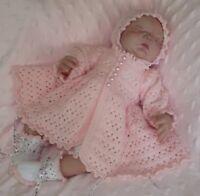 Honeydropdesigns * Fleur * PAPER KNITTING PATTERN * Baby/Reborn 0-3 Months