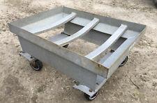 Win-Holt Galvanized Steel Dolly Cart 27x20 barrel beer keg