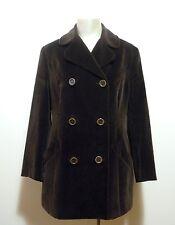 D&G DOLCE & GABBANA Cappotto Giaccone Donna Velluto Woman Velvet Coat Sz.M - 44