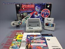 SNES Konsole OVP Nintendo More Fun Set inkl. Super Gameboy & Super Mario World