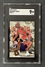 1992-93 Fleer #5 Michael Jordan - Total D - SGC 9 - Ultra Low Pop of 7