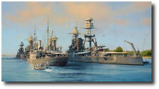 The Calm Before The Storm by Robert Taylor - USS Arizona - Pearl Harbor - 5 Sigs