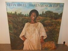 Letta Mbulu . There's Music In The Air . Shrink Wrap . LP