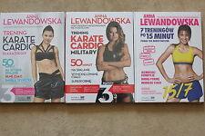 Anna Lewandowska: ZESTAW Trening Karate Cardio Military (3DVD)  KOMPLET