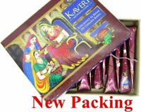 12 X Natural Henna Herbal Cones Temporary Tattoo kit Mehendi Ink Kaveri Body Art