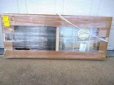 NEW Almond (or tan) Color Vinyl Semi-SLIDER Home WINDOW w/ Grids (69