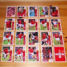 PANINI EURO 2008 Complete set of 20 extra stickers P1 - P20 NEW TOP QUALITY